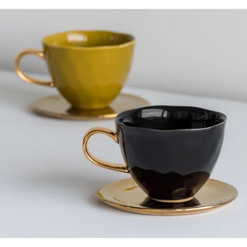 Urban Nature Culture-collectie Good morning cup amber groen