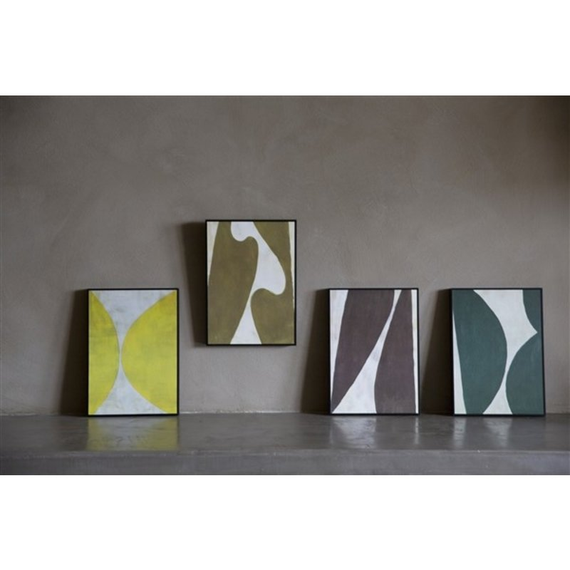 Urban Nature Culture-collectie Poster RETRO Abstract  B
