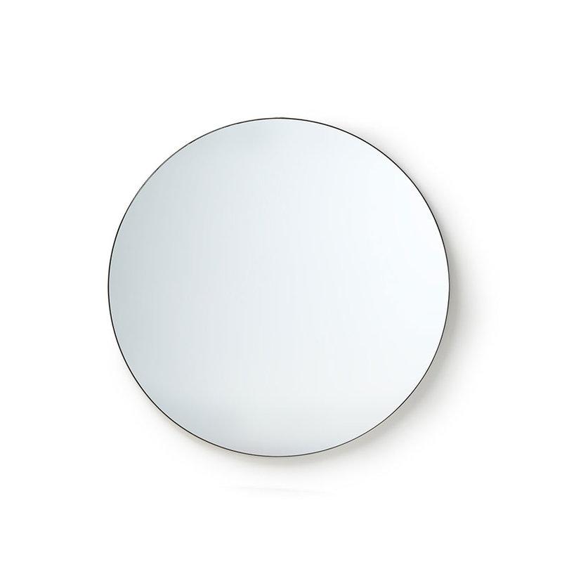 HKliving-collectie Ronde spiegel metalen frame 80cm