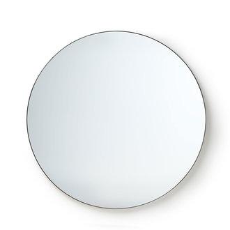 HKliving round mirror metal frame 120cm