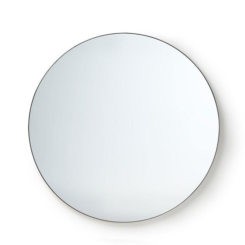 HK living-collectie Ronde spiegel metalen frame 120 cm