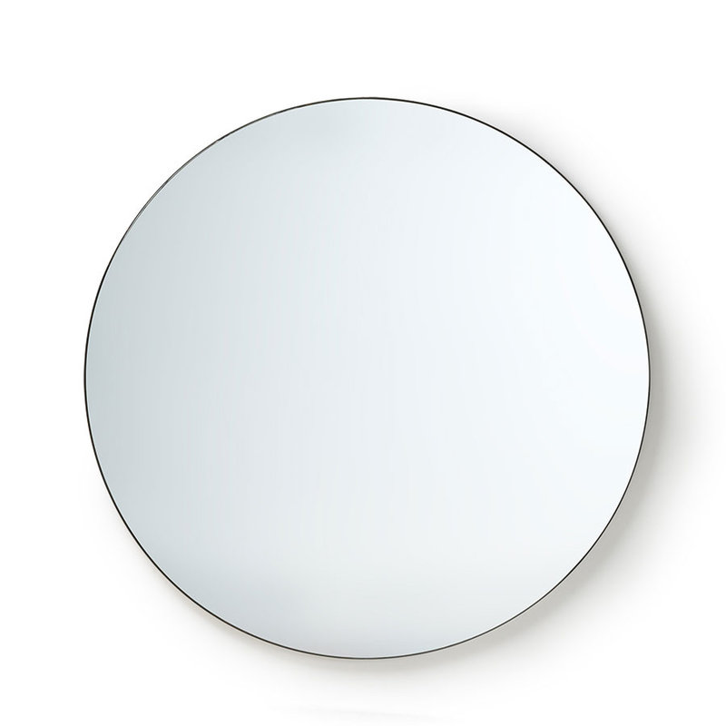 HKliving-collectie round mirror metal frame 120cm