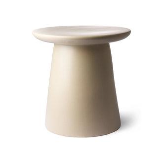 HK living side table earthenware