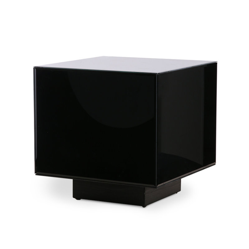 HKliving-collectie mirror block table black M