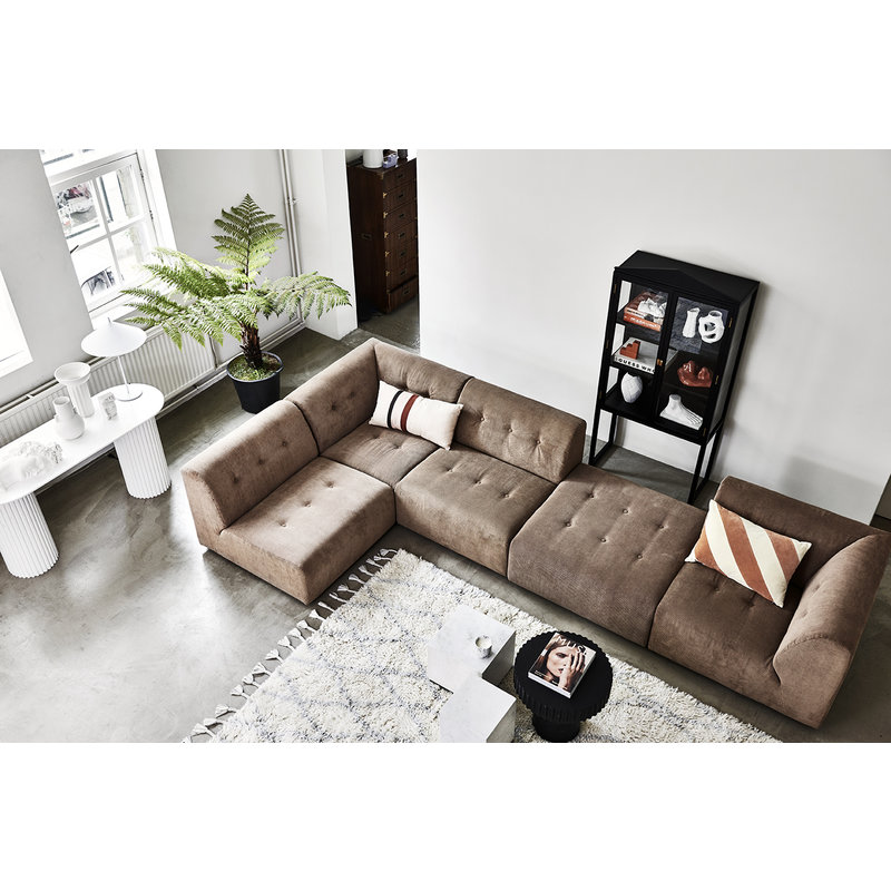 HKliving-collectie pillar coffee table round black
