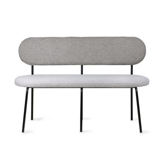 HKliving dining table bench grey