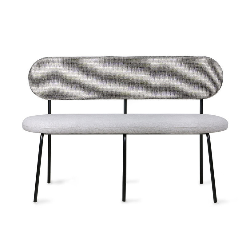 HKliving-collectie dining table bench grey
