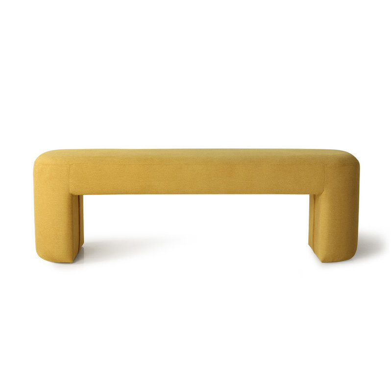 HKliving-collectie lobby bench ochre