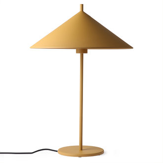 HK living Tafellamp Triangle L Mat Oker