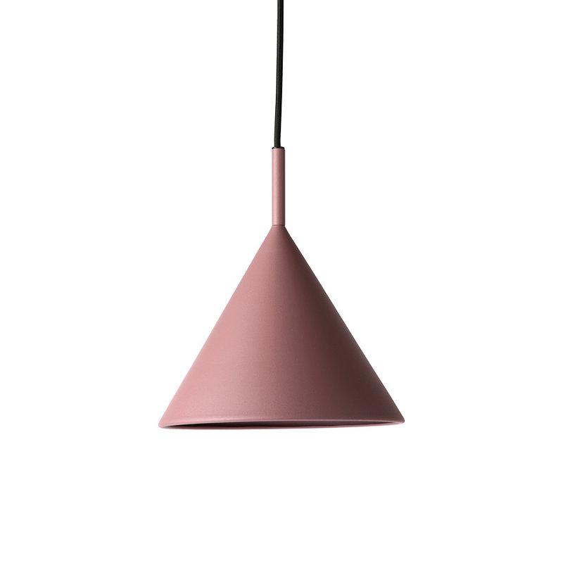 HKliving-collectie metal triangle pendant lamp M matt purple