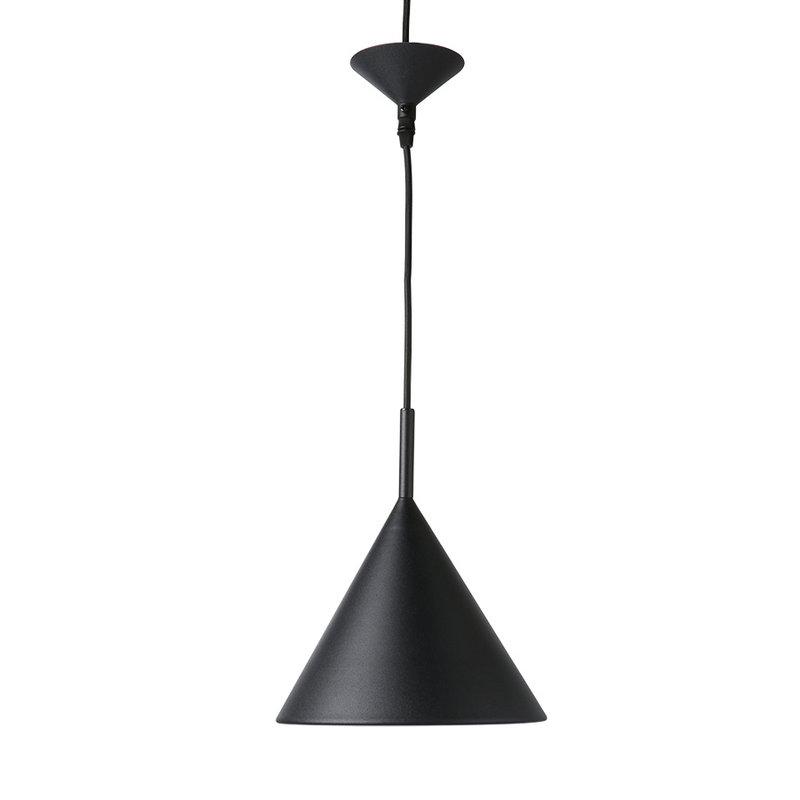 HKliving-collectie Hanglamp Triangle M Mat zwart