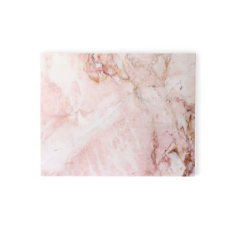 HKliving marble cutting board pink polished