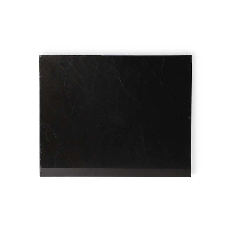 HKliving-collectie marble cutting board black polished