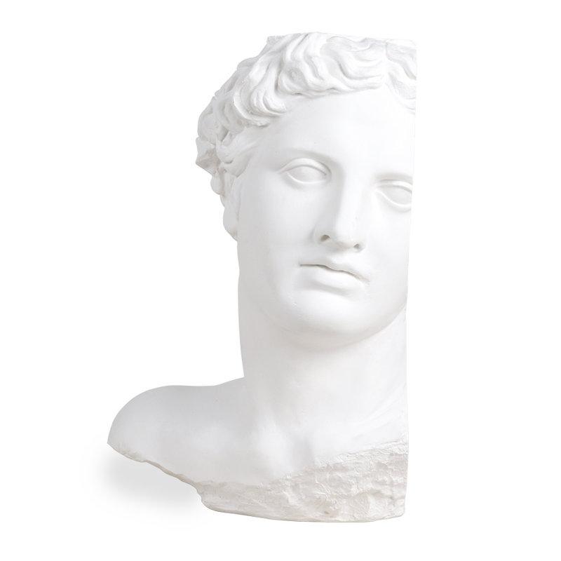 HKliving-collectie plaster statue apollo