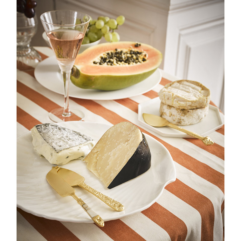 HK living-collectie cheese knives gold set of 3