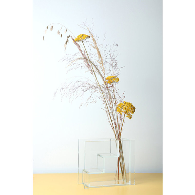 HK living-collectie glass stairs vase