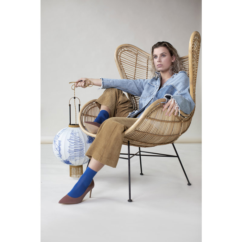 HK living-collectie Egg chair rattan - natural