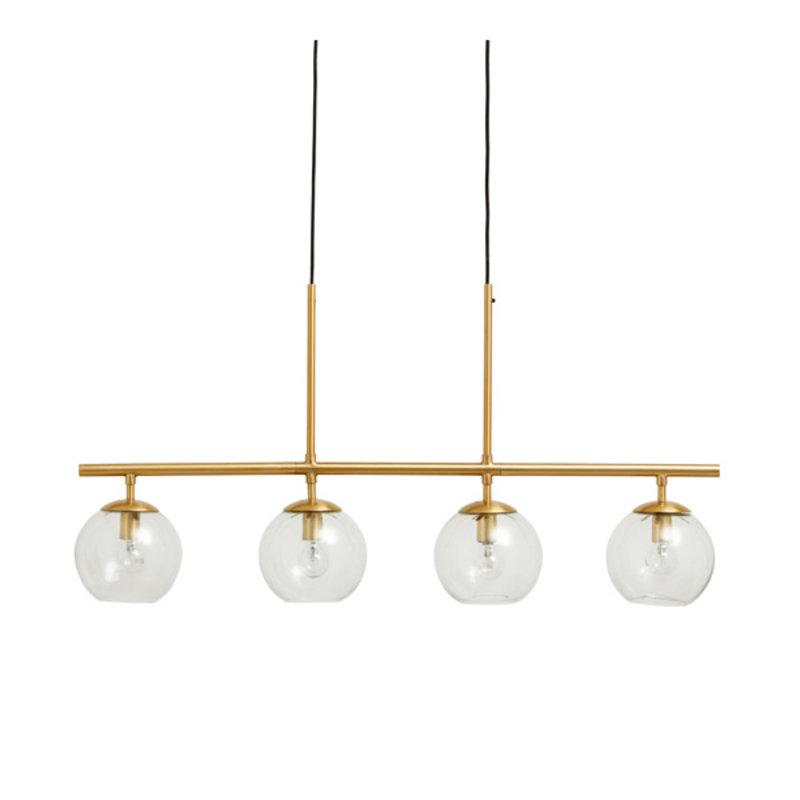 Nordal-collectie Hanglamp GLOBE goud