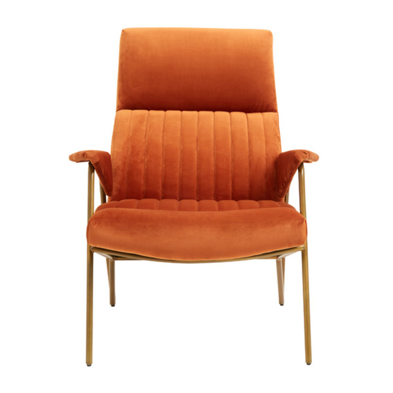 Nordal-collectie Fauteuil IBEX terracotta