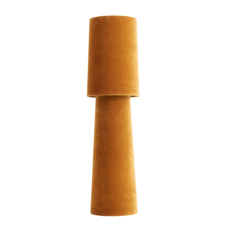 Nordal-collectie OPUS table lamp, tall, mustard velvet