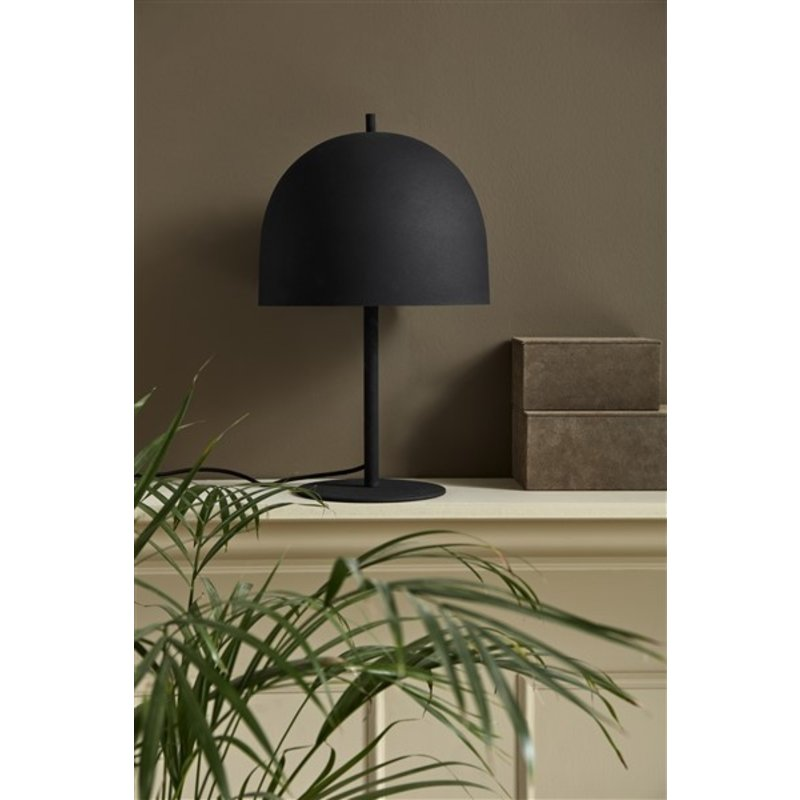 Nordal-collectie Tafellamp GLOW mat zwart