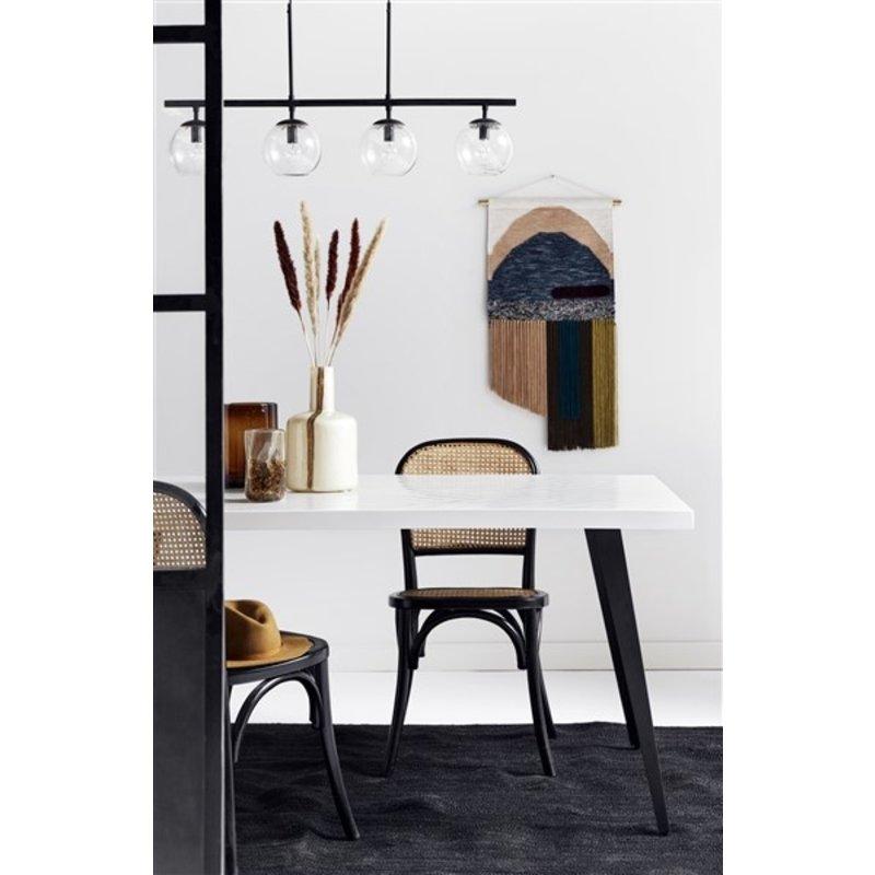 Nordal-collectie Hanglamp GLOBE zwart