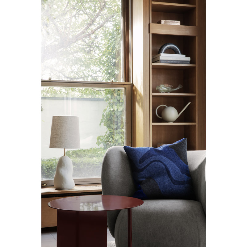 ferm LIVING-collectie Place Side Table - Red Brown