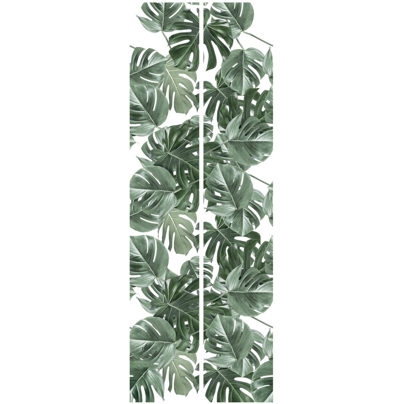 KEK Amsterdam-collectie Behang Monstera white