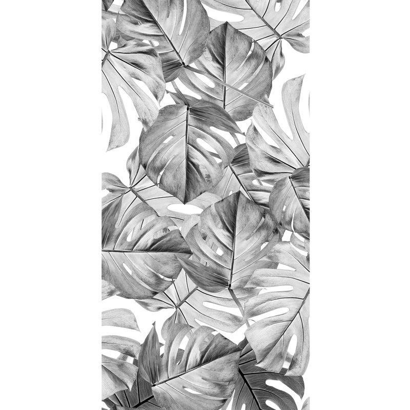 KEK Amsterdam-collectie Wallpaper Monstera Black & white