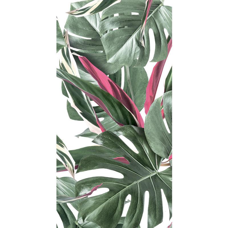 KEK Amsterdam-collectie Wallpaper Botanical leaves, white