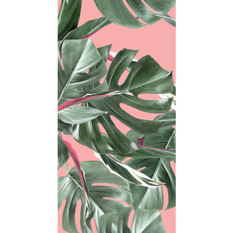 KEK Amsterdam-collectie Behang Botanical leaves, pink