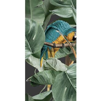 KEK Amsterdam Wallpaper Botanical Birds,Black