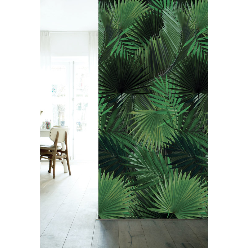 KEK Amsterdam-collectie Wallpaper Palm leaves