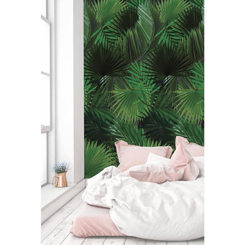 KEK Amsterdam-collectie Behang Palm leaves