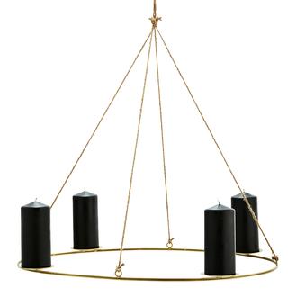 Madam Stoltz Oval hanging candle holder