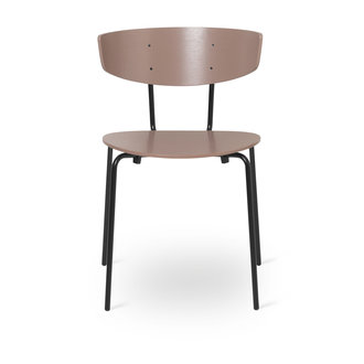 ferm LIVING Stoel Herman Dark Rose