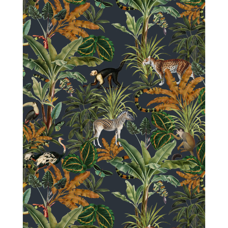 Creative Lab Amsterdam-collectie Mighty Jungle Wallpaper on roll