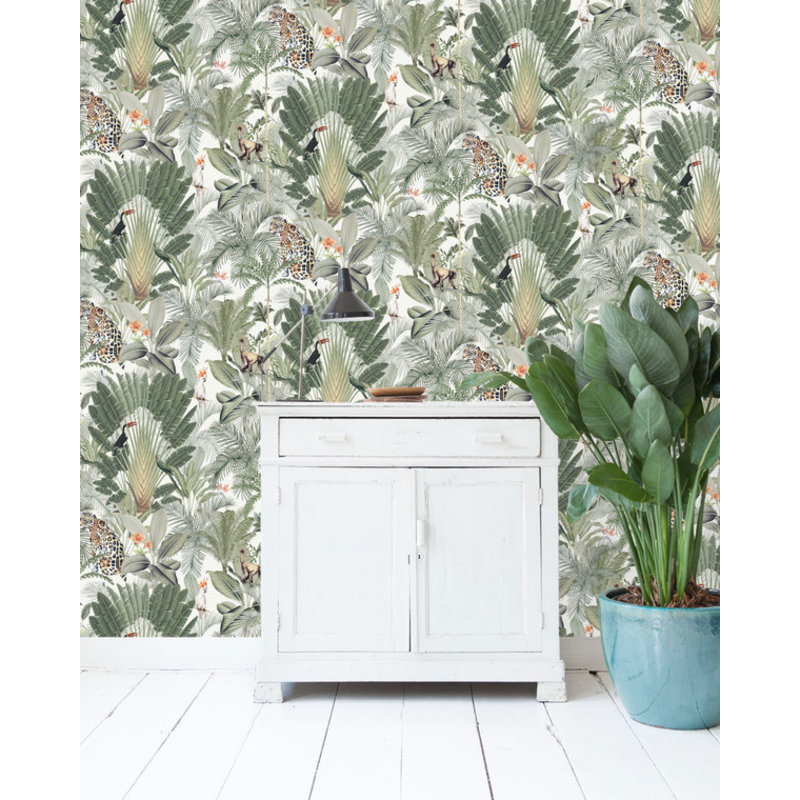 Creative Lab Amsterdam-collectie Into the Wild Wallpaper on roll