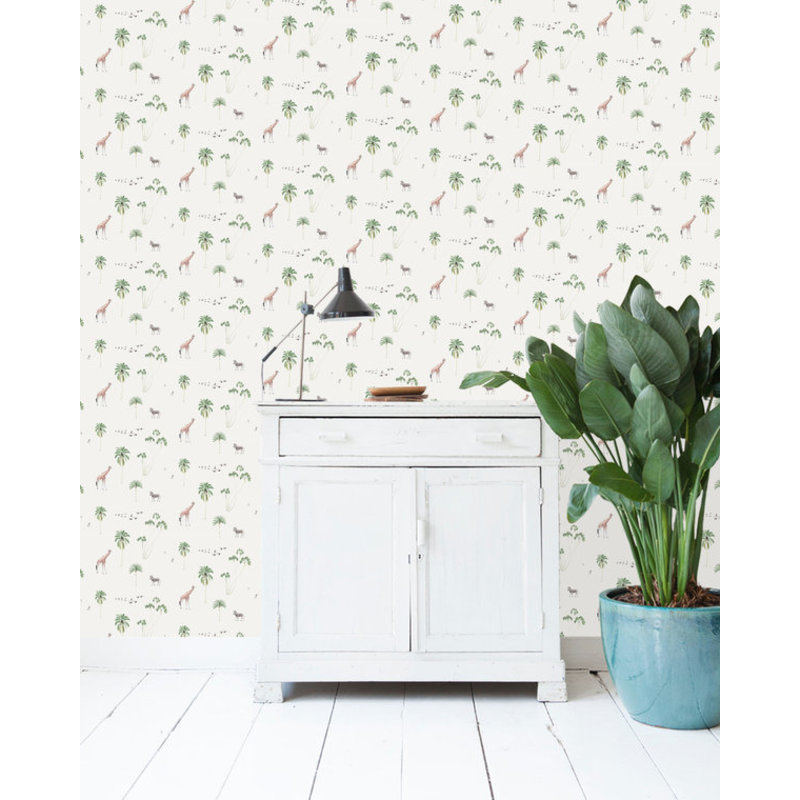Creative Lab Amsterdam-collectie Fly with Me Wallpaper on roll