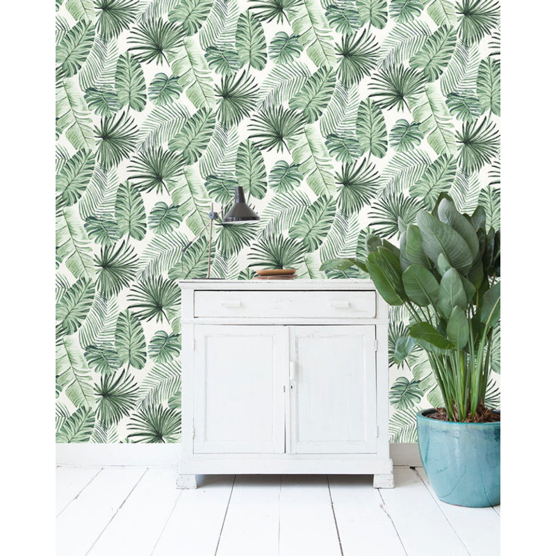 Creative Lab Amsterdam-collectie Leave Wall Wallpaper on roll