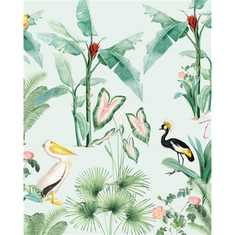 Creative Lab Amsterdam-collectie Pelican Wallpaper Mural