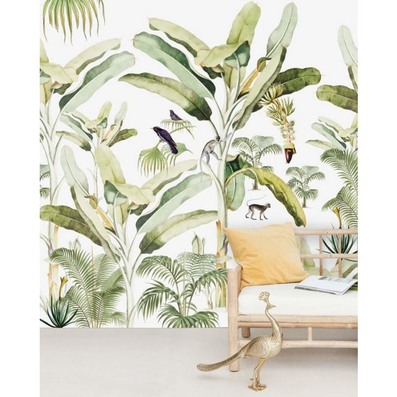 Creative Lab Amsterdam-collectie Baby Bananas Wallpaper Mural