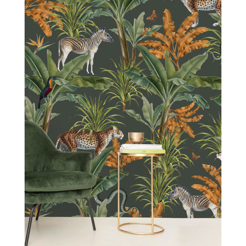 Creative Lab Amsterdam-collectie Mighty Jungle Wallpaper Mural