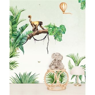 Creative Lab Amsterdam Monkey Jungle behang Mural