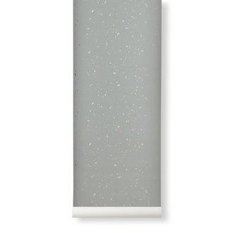 ferm LIVING Confetti Wallpaper grey