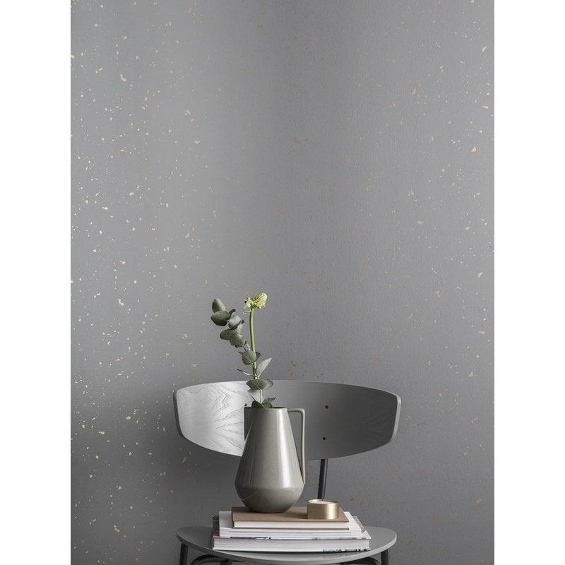 ferm LIVING-collectie Confetti behang grijs