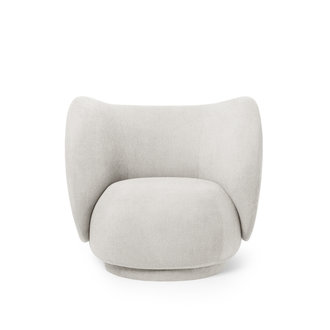 ferm LIVING Rico Lounge Chair Off-White