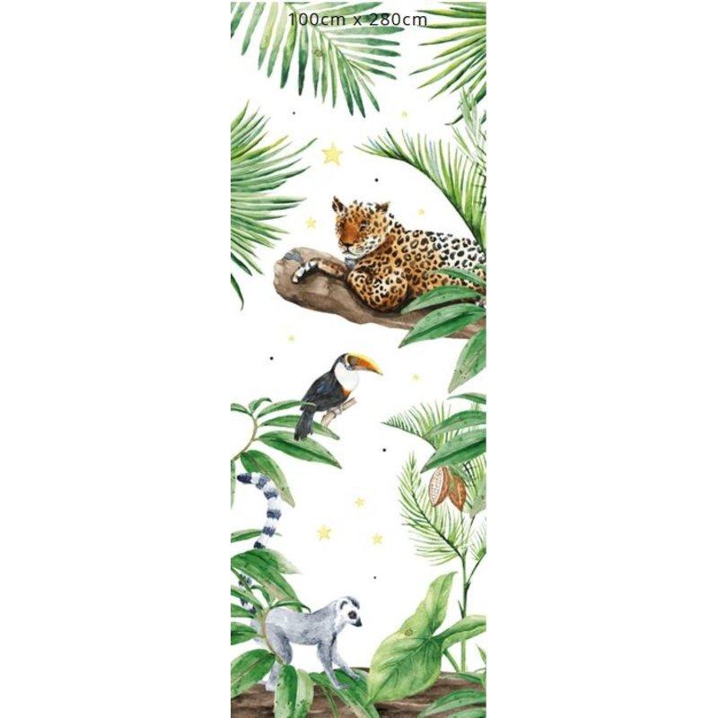 Creative Lab Amsterdam-collectie Jungle Tiger Wallpaper Mural