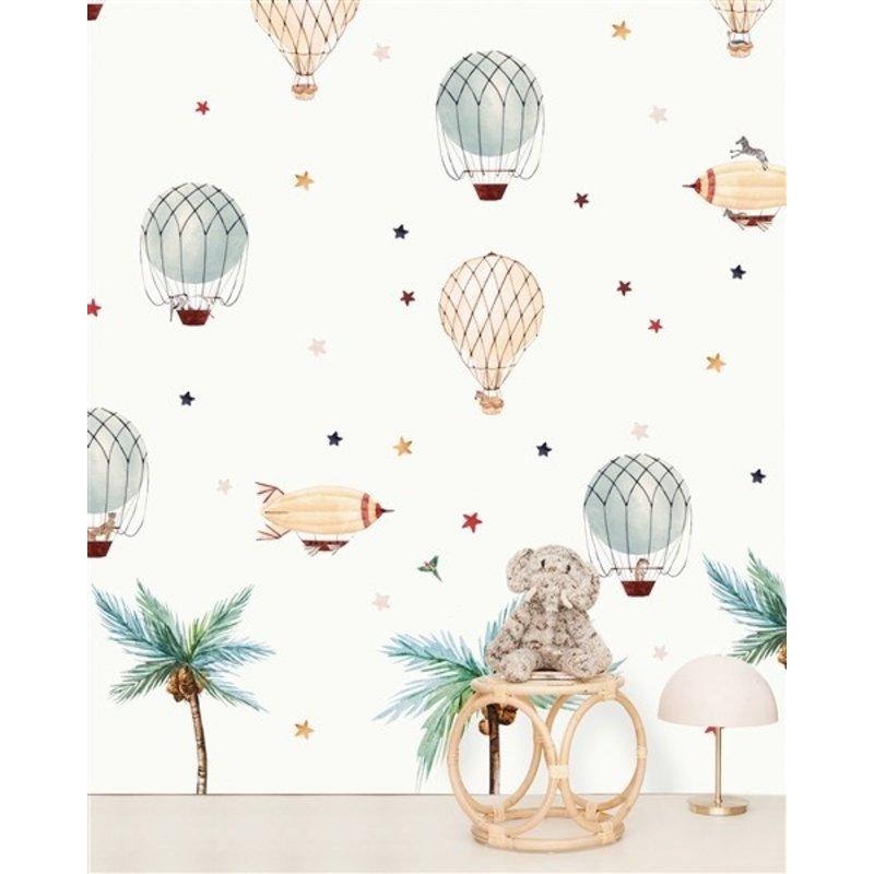Creative Lab Amsterdam-collectie Little Balloon Wallpaper Mural