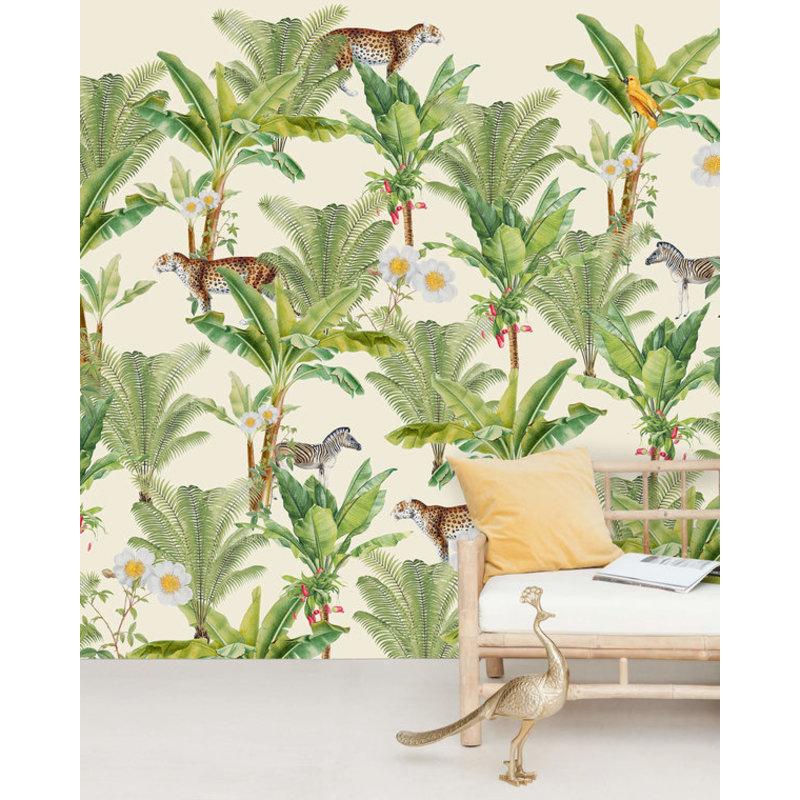 Creative Lab Amsterdam-collectie Flower Garden behang Mural